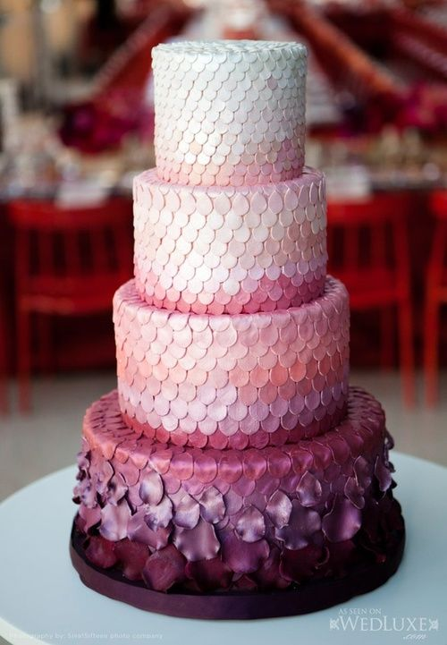 Les 20 plus beaux wedding cakes de Pinterest  Today WeCook