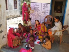 Kardiya's angawadi (child/nutrition health center)