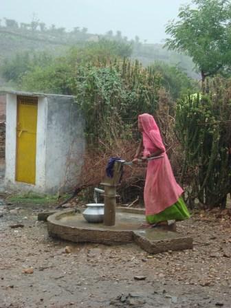 A village outside Udaipur