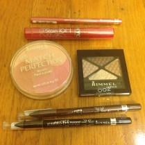 Rimmel Makeup and NYC Lip Stain