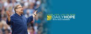 Rick Warren Daily Hope 20 August 2021