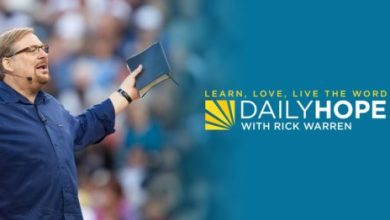 Daily Hope with Rick Warren 20th October 2021