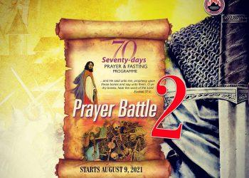 MFM 70 Days Fasting for 25 September 2021 Day 48