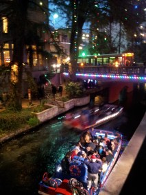 San Antonio Riverwalk at night!