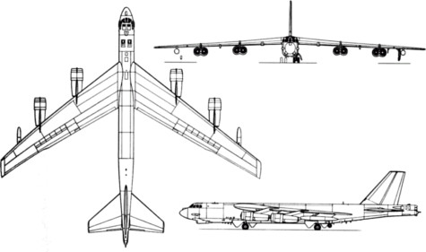 b-52 bomber stratofortress boeing august 13 1952 usaf