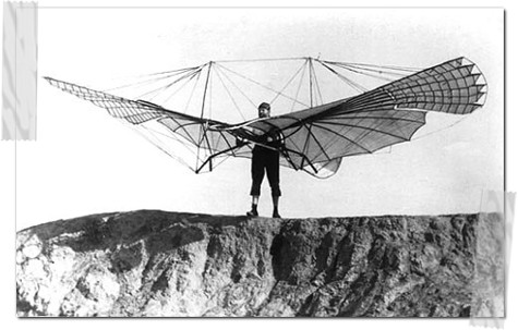 All otto lilienthal first gliders simply