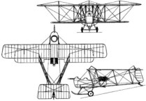 vickers efb1 fighter plane