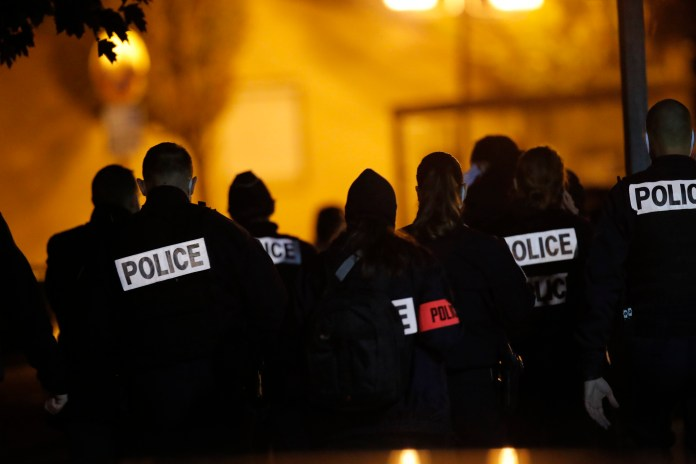 French officials have detained nine people