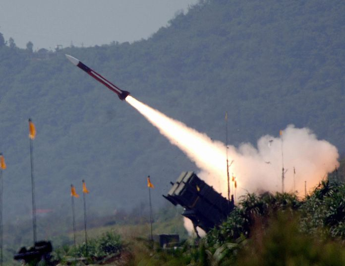 China sanctions the missiles purchased by Taiwan