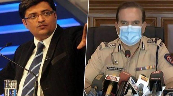 Mumbai police on TRP scam