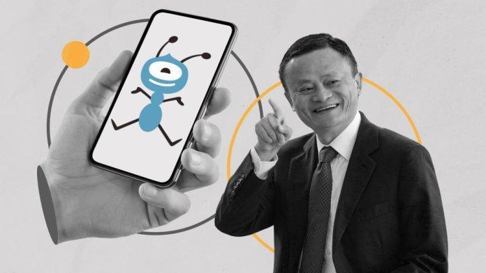 Jack Ma's Ant Group Co.