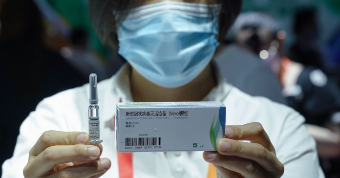 China-made vaccines