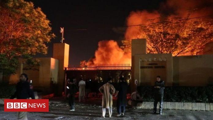 Deadly Blast At Pakistan Hotel Hosting Chinese Ambassador, 4 Killed