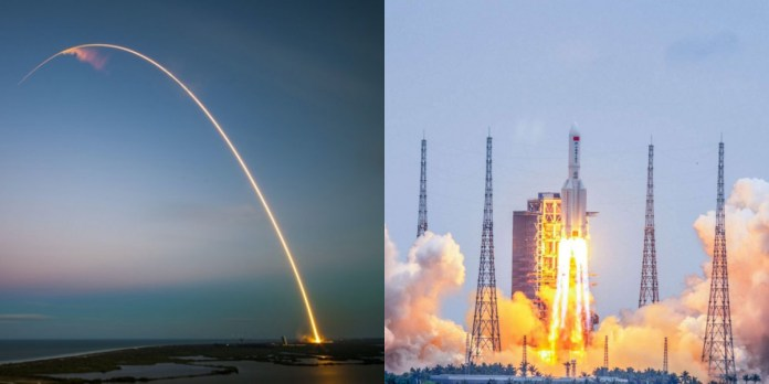 Debris from China's biggest rocket crashes into Indian Ocean; NASA criticizes Beijing's handling