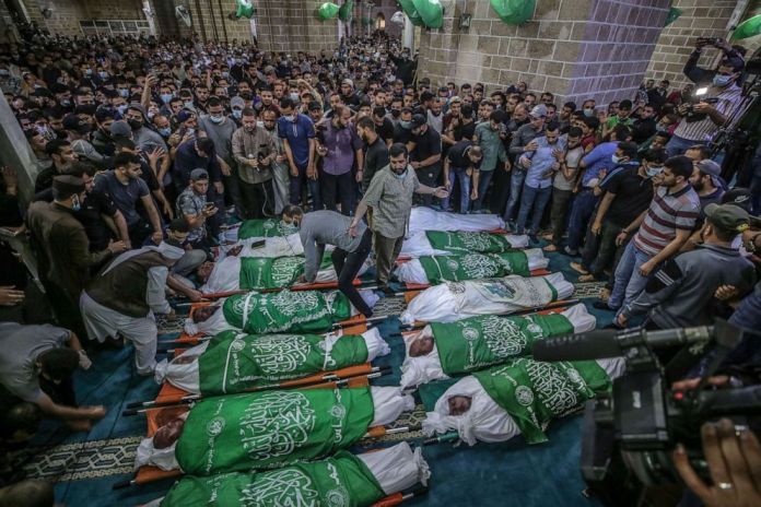 Israel-Hamas Truce Begins After 11 Days of Raging Conflicts