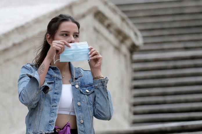 masks no longer compulsory in italy