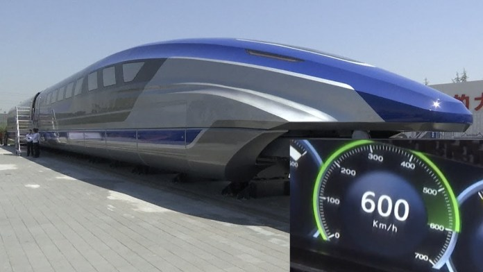 China Unleashes World's Fastest Ground Vehicle, Runs at a Speed of 600 kmph