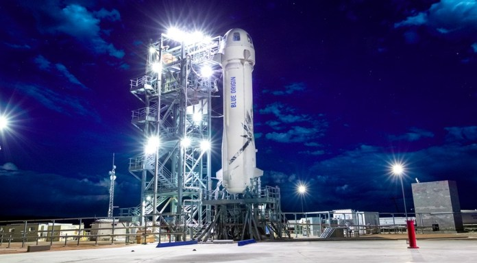 New Shepard Rocket with Lunar Landing Technology to Take Off Today