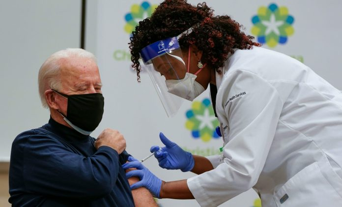 Joe Biden Receives his COVID-19 Booster Shot, Explains the Role of Vaccinations in Ending the Pandemic
