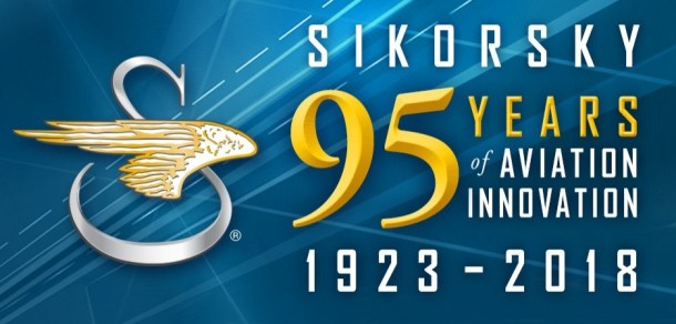 Sikorsky Aircraft, formerly owned by United Technologies and now a subsidiary of Lockheed Martin, is celebrating its 95th year of business in 2018.