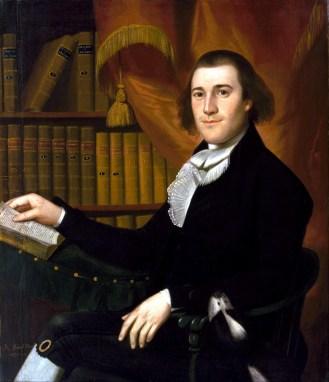 Dr. Mason Cogwell. Portrait by Ralph Earl, circa 1791.