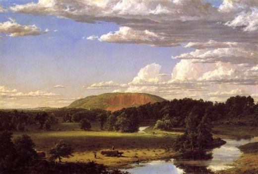 West Rock, by Frederic Edwin Church (1849)