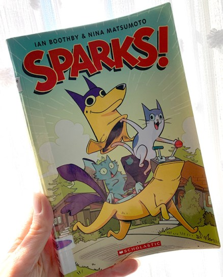 Sparks! Kids Book Review