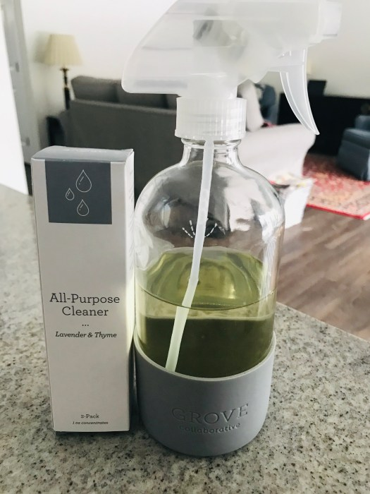 Grove Collective All-Purpose Cleaner with Glass Spray Bottle