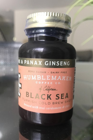 Humblemaker Cold Brew Coffee Shot Black Sea