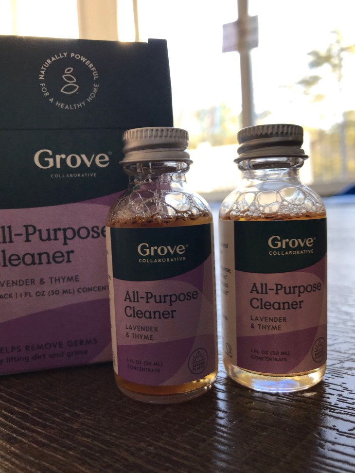Grove Collaborative Unboxing All-Purpose cleaner
