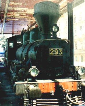 Sealed Train Locomotive