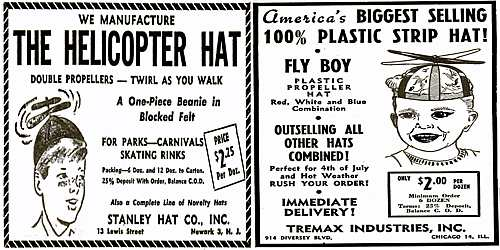 History of the Propeller Beanie and The Ultimate Propeller