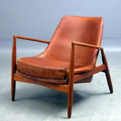 Corbusier Lounge Chair Oak Side Chairs – Today In Style