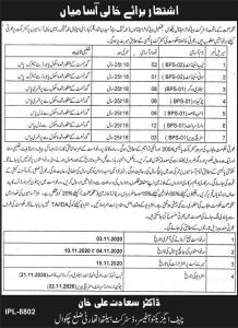 Class Four Jobs 2020 in Chakwal Health Department Application Form Download 1