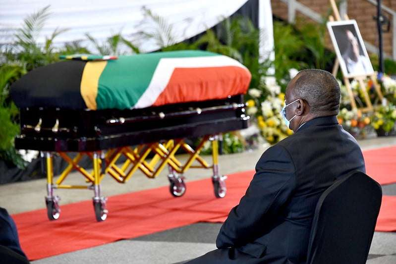 Special Official Funeral Service for Ntate Andrew Mokete Moeti Mlangeni