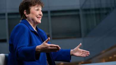 Managing Director Kristalina Georgieva participates in a Bloomberg Green interview. IMF Photo/Kim Haughton 22nd January 2021 Washington D.C.