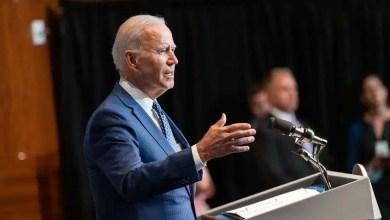 President Joe Biden delivers remarks Tuesday