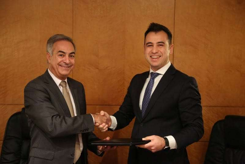 Samir Jaieb (CEO of Groupe Alliance) and Feras Hasbini (Director