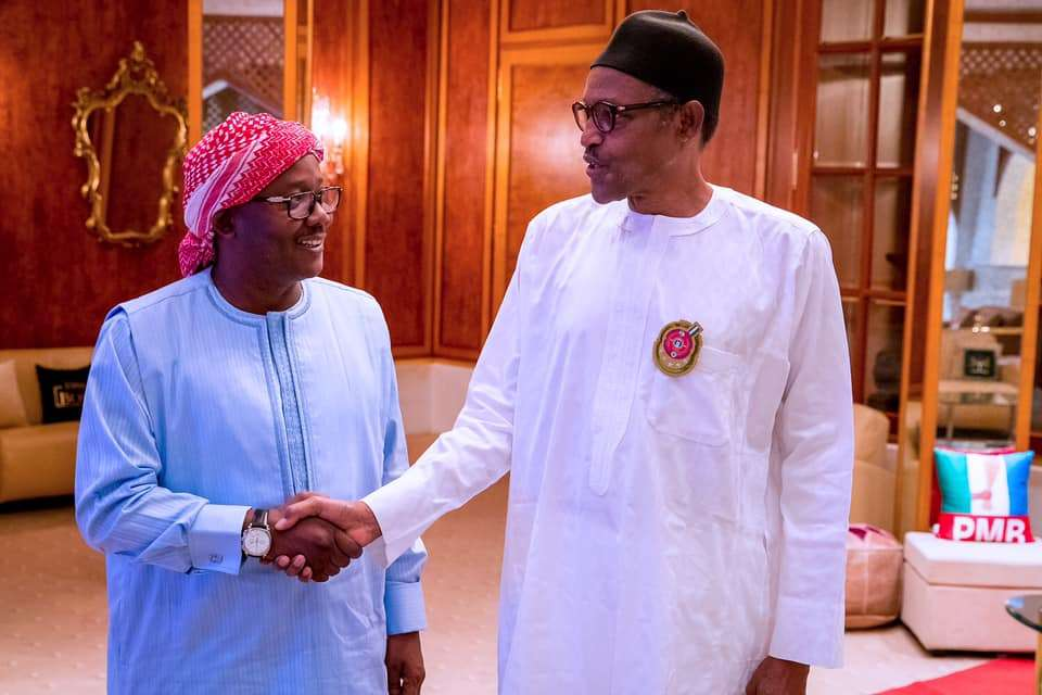 President Buhari receives in audience Newly Elected President of Guinea Bissau H.E. Umaro Sissoco Embaló in State House on 5th Jan 2020|President Buhari receives in audience Newly Elected President of Guinea Bissau H.E. Umaro Sissoco Embaló in State House on 5th Jan 2020|President Buhari receives in audience Newly Elected President of Guinea Bissau H.E. Umaro Sissoco Embaló in State House on 5th Jan 2020|President Buhari receives in audience Newly Elected President of Guinea Bissau H.E. Umaro Sissoco Embaló in State House on 5th Jan 2020