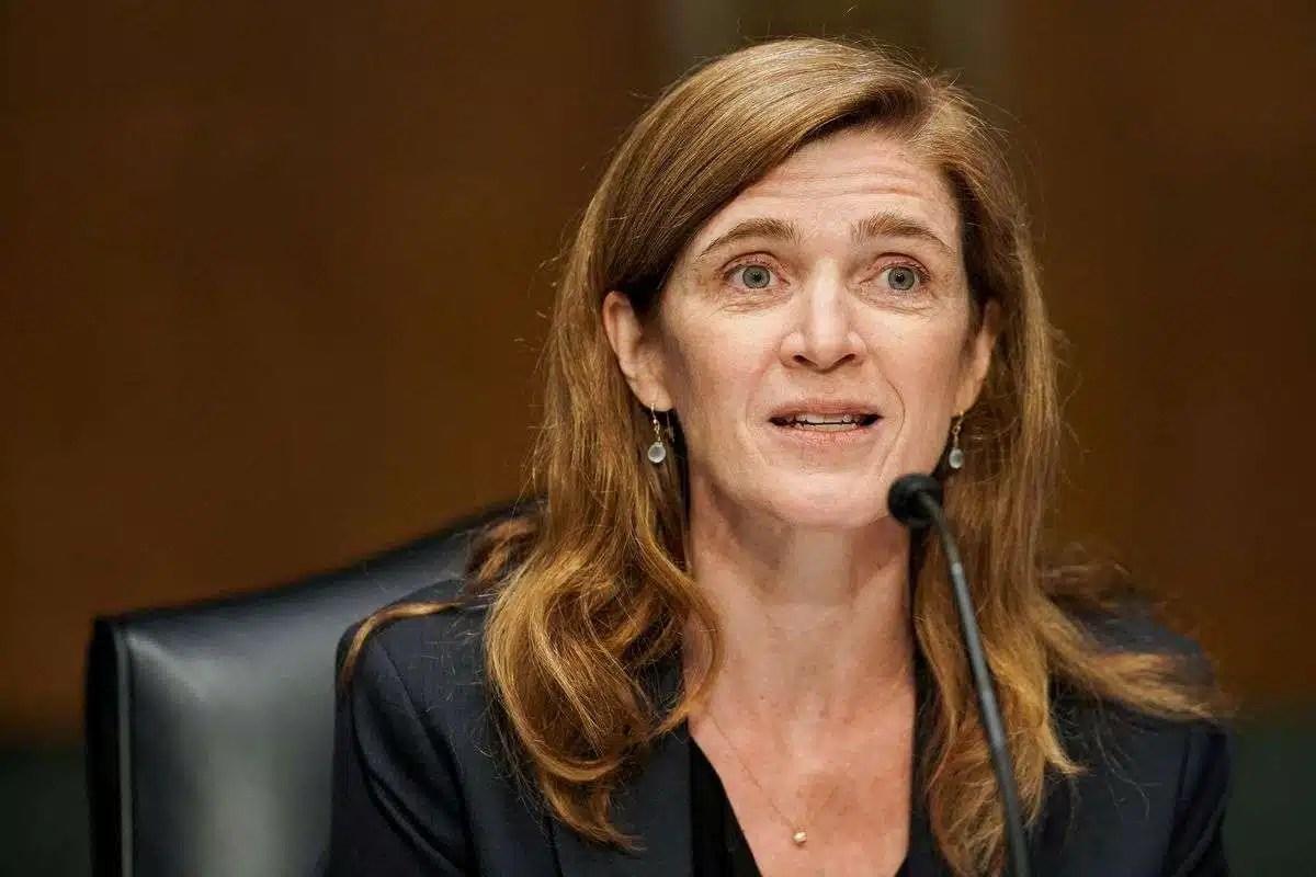 Former U.S. Ambassador to the United Nations Samantha Power