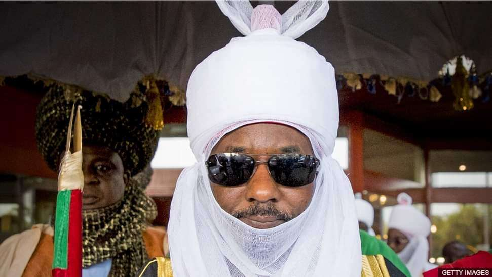 deposed Emir of Kano Muhammadu Sanusi