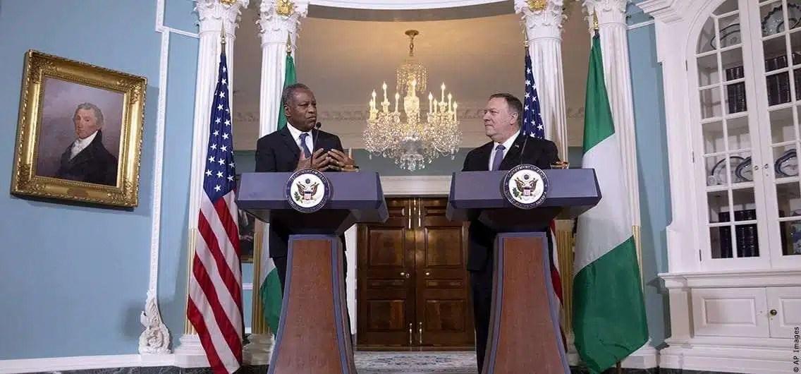 Nigeria's Minister of Foreign Affairs Geoffrey Onyeama