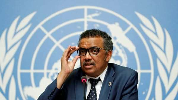 WHO Director-General Dr. Tedros Adhanom Ghebreyesus