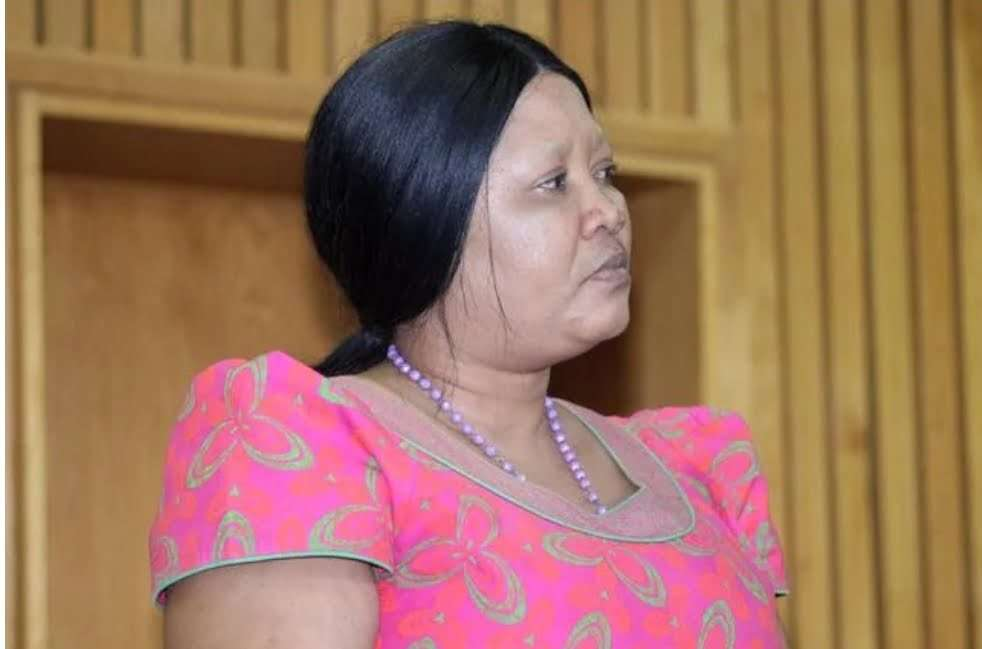 Lesotho's first lady Maesaiah Thabane in court for murdering husband's ex-wife just 2 days before inauguration An arrest warrant for the first lady was issued the day she fled the country after she refused to report to police for questioning in connection with the murder of prime minister Thomas Thabane's former wife
