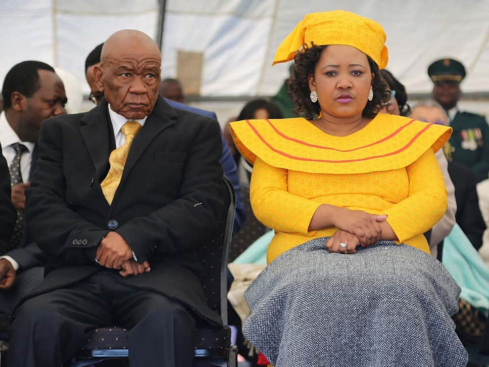 An arrest warrant for the first lady was issued the day she fled the country after she refused to report to police for questioning in connection with the murder of prime minister Thomas Thabane's former wife