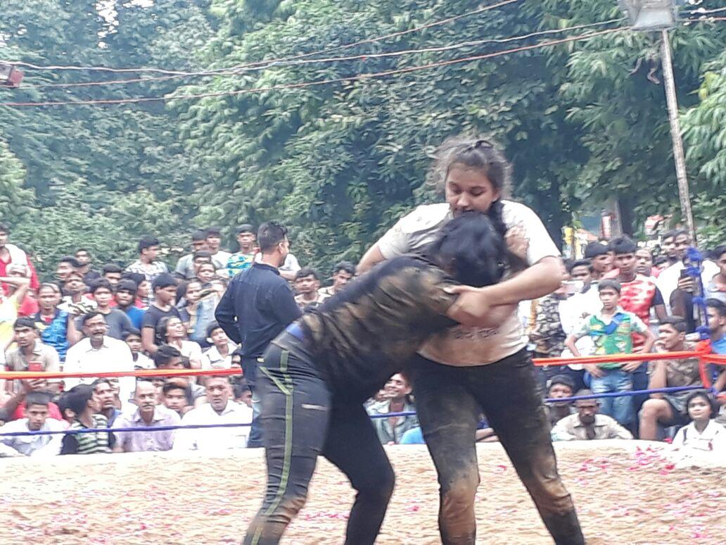 पूर्व प्रधानमंत्री अटल बिहारी वाजपेयी की याद में हुआ दंगल का आयोजन |