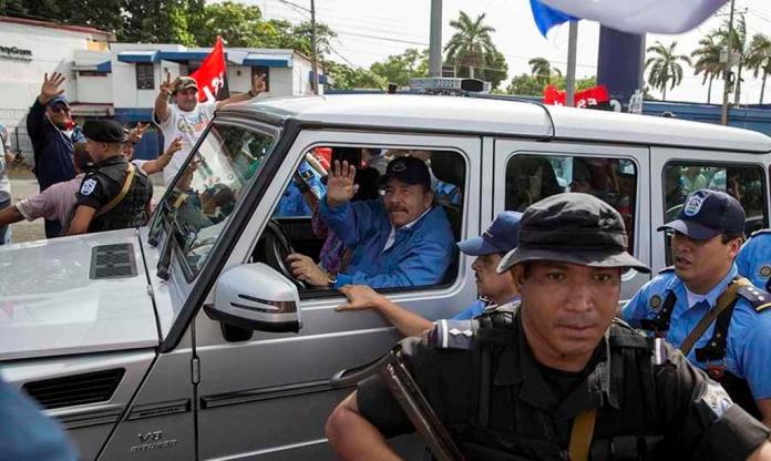 National Strike Empties Streets in Nicaragua; Ortega Makes Appearance In Masaya