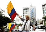 Strike of the Colombian farming sector