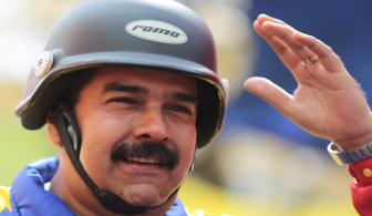 Trying to keep it together: Venezuelan President Nicolas Maduro