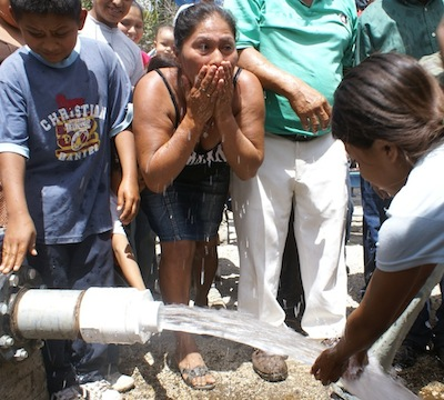 Sweet water: A rural Nicaraguan community drinks from a new well